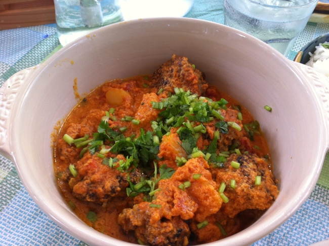 Creamy tomato curry kofta balls (P300) - good for sharing